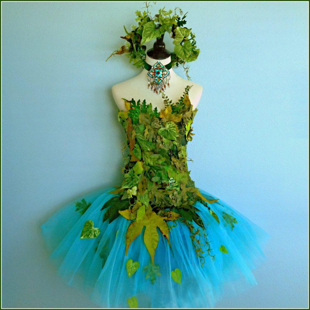 Платье феи цветов своими руками
